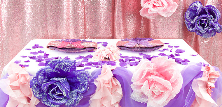Pink and Purple Enchanted Garden Party FtD