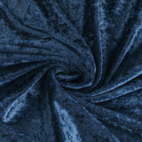 10 yards Velvet Fabric Roll - Navy Blue