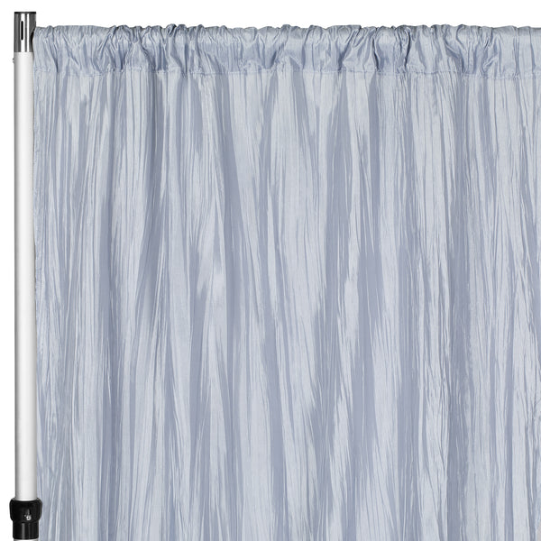 Accordion Crinkle Taffeta 8ft H X 54 Quot W Drape Backdrop