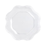 Baroque Round Charger Plate - Clear