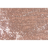 "Glitz Sequin 8ft H x 52"" W Drape/Backdrop panel - Blush/Rose Gold"