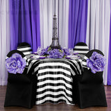 Spandex Banquet Chair Cover - Black