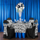 Crystal Column Tabletop Centerpiece - Silver