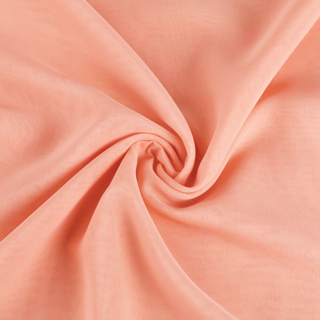"Chiffon Fabric Bolt 58"" x 10 yards - Coral"