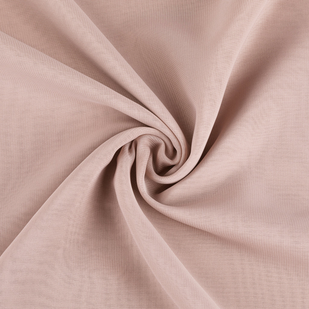 "Chiffon Fabric Bolt 58"" x 10 yards - Dusty Rose/Mauve"