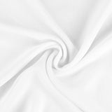 "Chiffon Fabric Bolt 58"" x 10 yards - White"