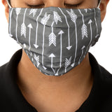 Cloth Face Mask (2 pcs/pk) - Love Arrows