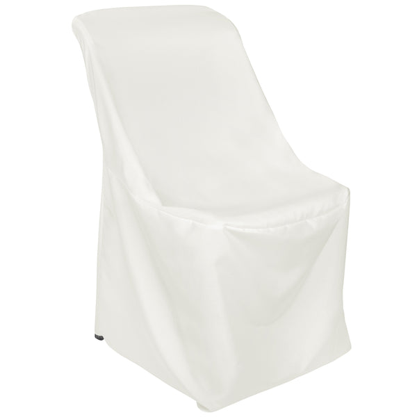 Fine Contemporary Lifetime Folding Chair Cover Ivory Ocoug Best Dining Table And Chair Ideas Images Ocougorg