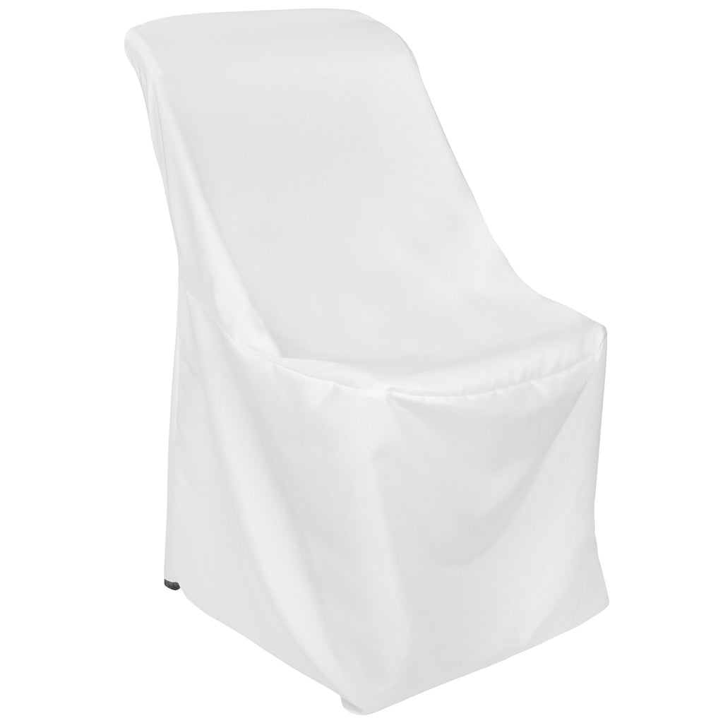 Contemporary LIFETIME folding chair Cover - White