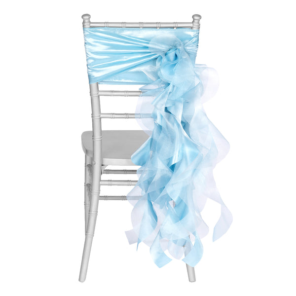 Curly Willow Chair Sash - Purple (With images)   Chair