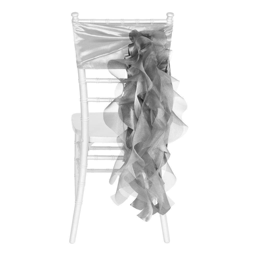 Curly Willow Chair Sash - Dusty Rose/Mauve- CV Linens