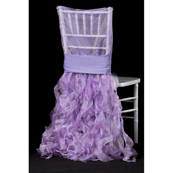 Curly Willow Chiavari Chair Back Slip Cover - Victorian