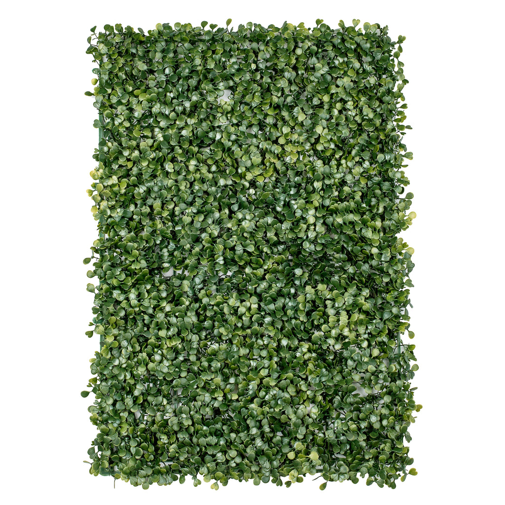 Faux Silk Boxwood Greenery Wall Panel Mat Backdrop 60cm x 40cm