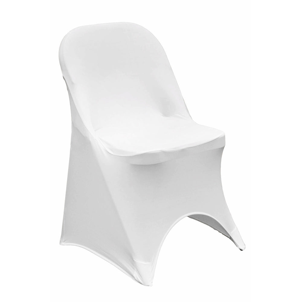 Excellent Folding Spandex Chair Cover White Frankydiablos Diy Chair Ideas Frankydiabloscom