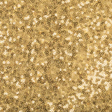 Glitz Sequin Spandex Chair Band - Gold