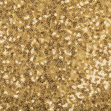 Folding Glitz Sequin Spandex Chair Cover - Gold