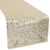 Glitz Sequin Table Runner - Champagne
