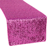 Glitz Sequin Table Runner - Fuchsia