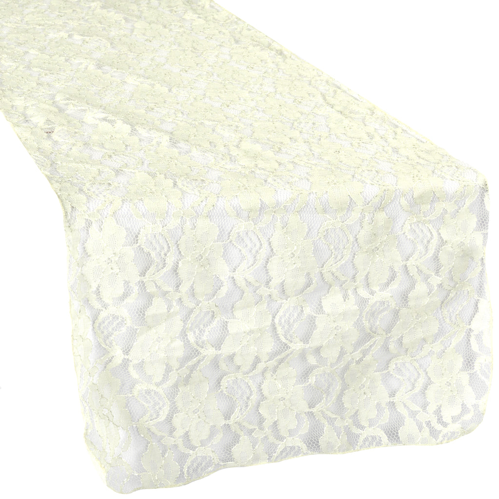 Lace Table Runner - Ivory