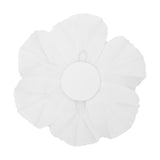 Large Foam Magnolia Flower Wall Decor 30 cm - White