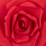 Large Foam Rose Wall  Decor 30 cm - Red