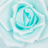 Large Foam Rose Wall  Decor 50 cm - Baby Blue