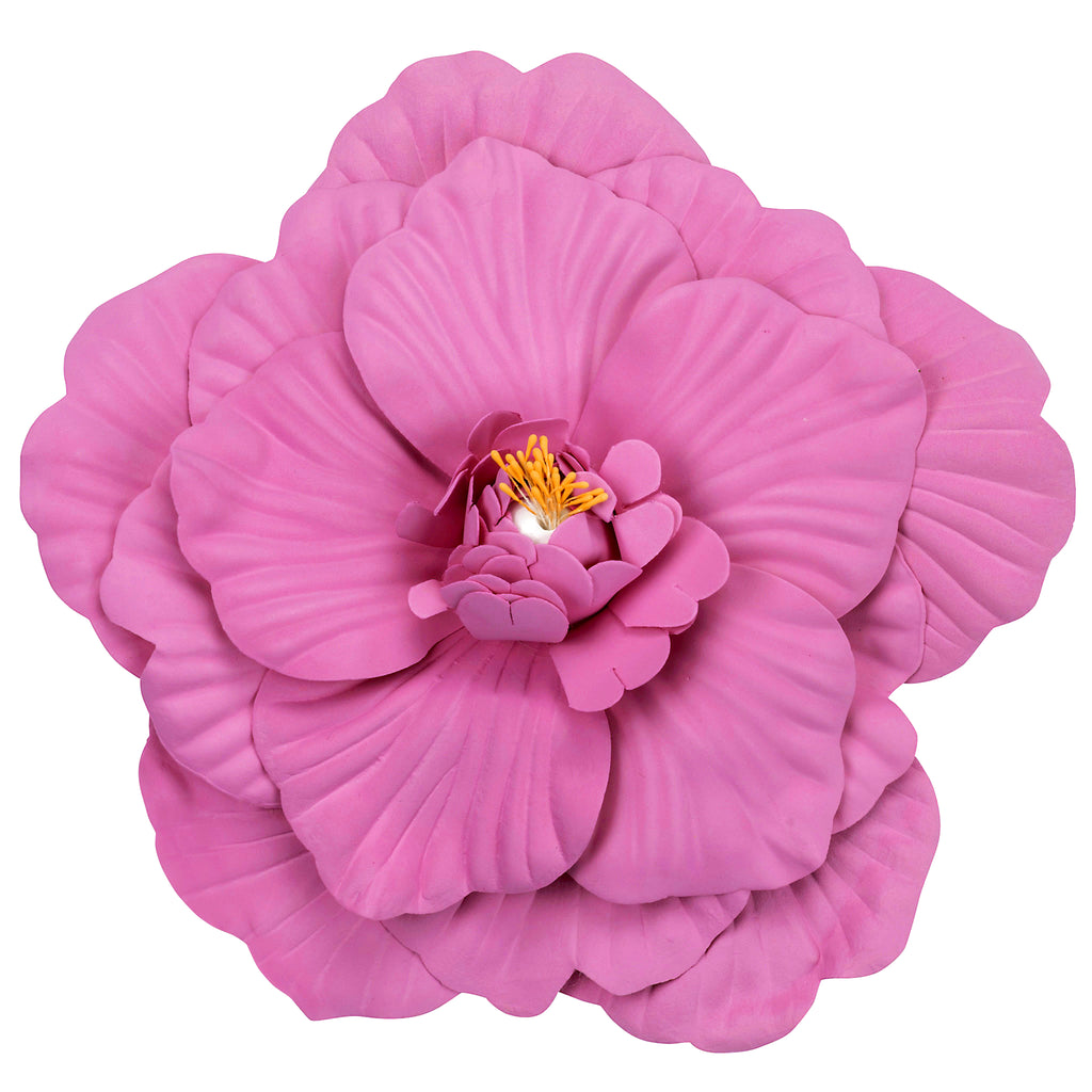 Large Foam Wedding Flower Wall Backdrop Decor 30 cm - Fuchsia