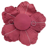 Large Foam Wedding Flower Wall Backdrop Decor 30 cm - Burgundy