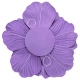 Large Foam Wedding Flower Wall Backdrop Decor 30 cm - Purple