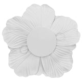 Large Foam Wedding Flower Wall Backdrop Decor 30 cm - White