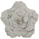 Large Foam Wedding Flower Wall Backdrop Decor 50 cm - Gray