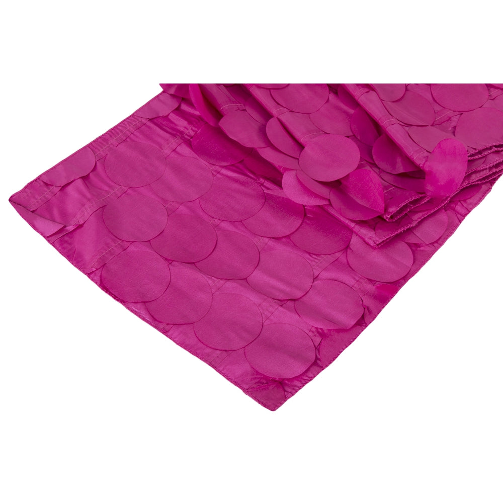 Petal Circle Table Runner - Fuchsia
