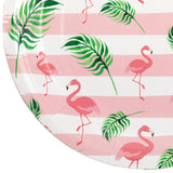Pink Flamingo Tableware Kit for 20 Guests