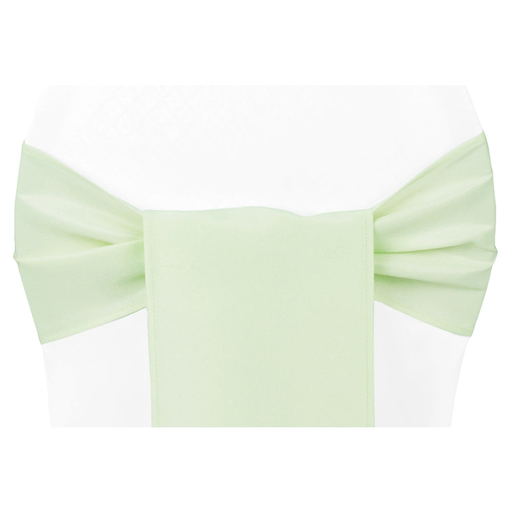 Polyester Chair Sash/Tie - Sage Green