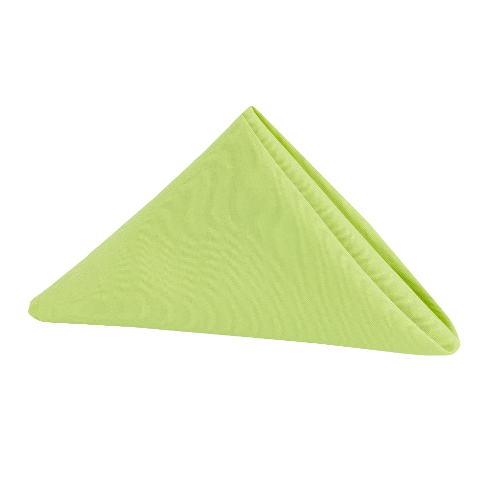"Polyester Napkin 20""x20"" - Apple Green"