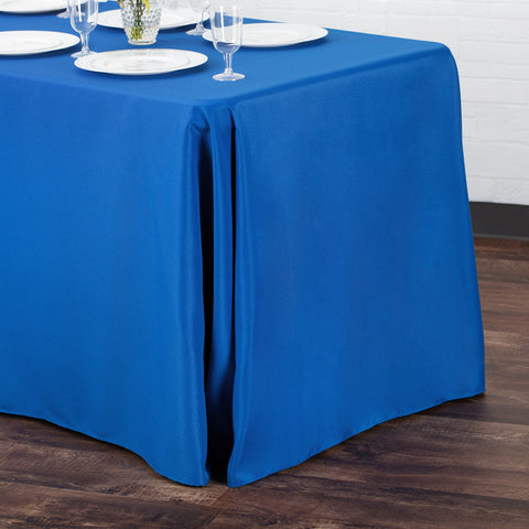 90 Quot X156 Quot Rectangular Oblong Polyester Tablecloth Yellow