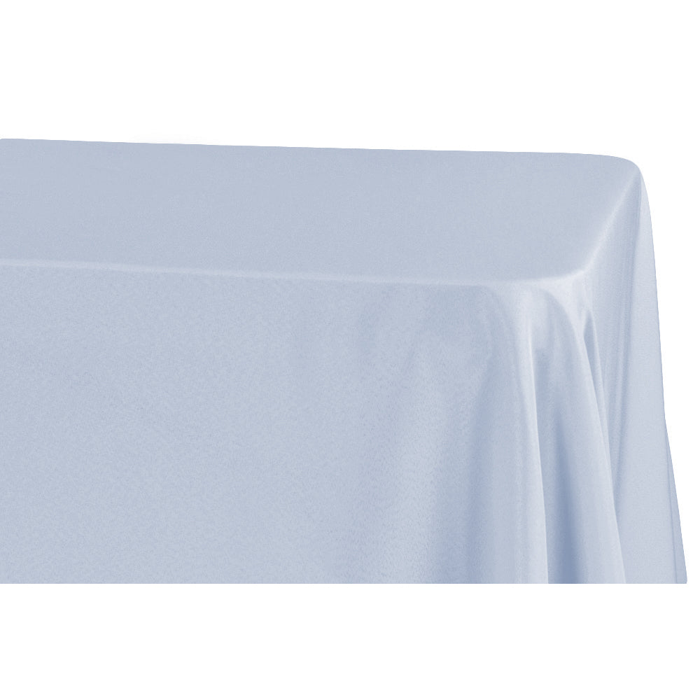 "90""x156"" Rectangular Oblong Polyester Tablecloth - Dusty Blue"
