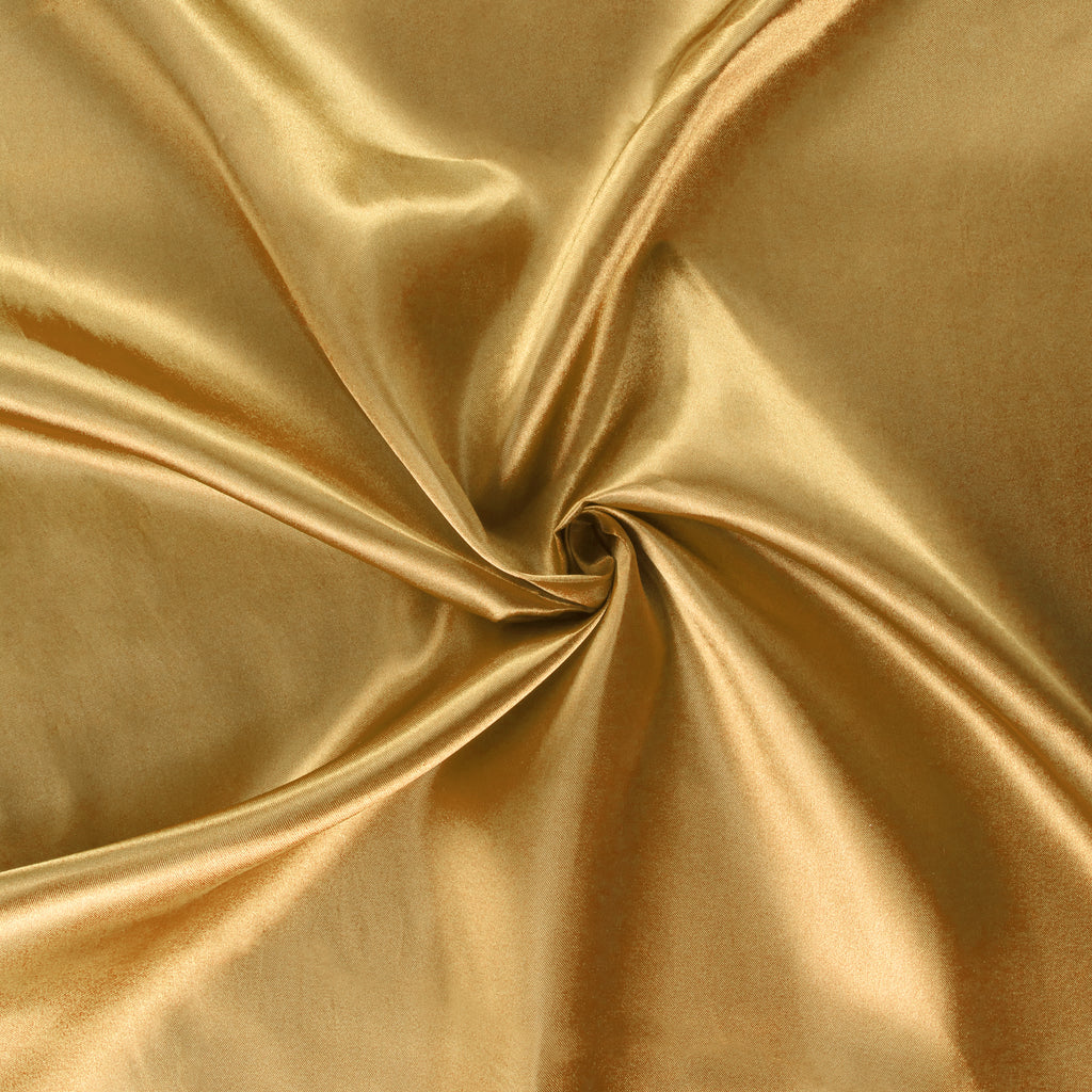 40 Yds Satin Fabric Roll Gold Antique
