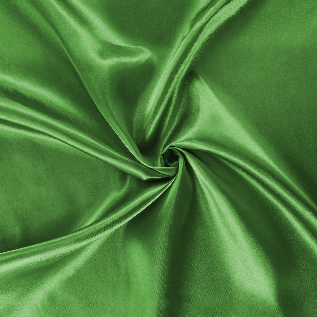 40 yds Satin Fabric Roll - Kelly Green