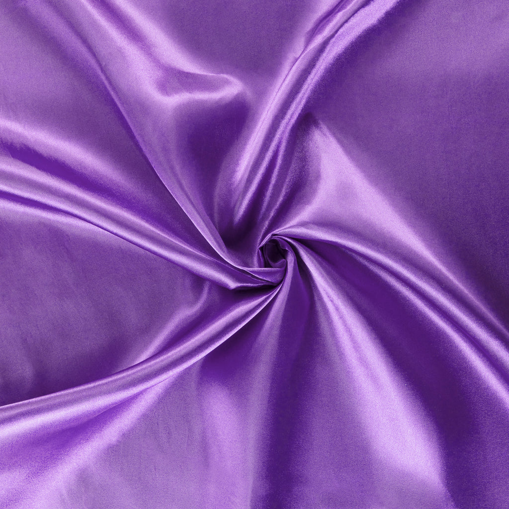 40 yds Satin Fabric Roll - Purple