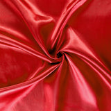 40 yds Satin Fabric Roll - Red