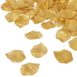 Silk Flower Rose Petals (500 pcs) - Gold