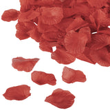 Silk Flower Rose Petals (500 pcs) - Red