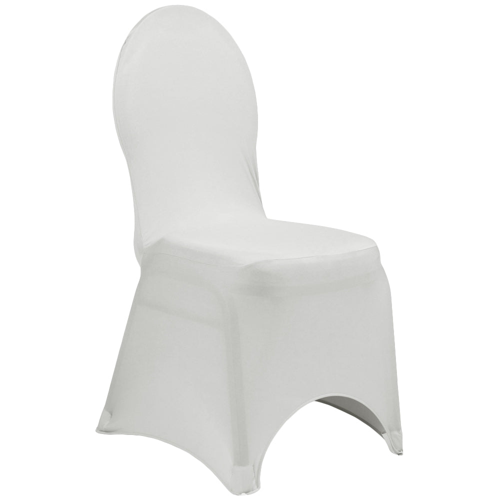 Spandex Banquet Chair Cover - Silver
