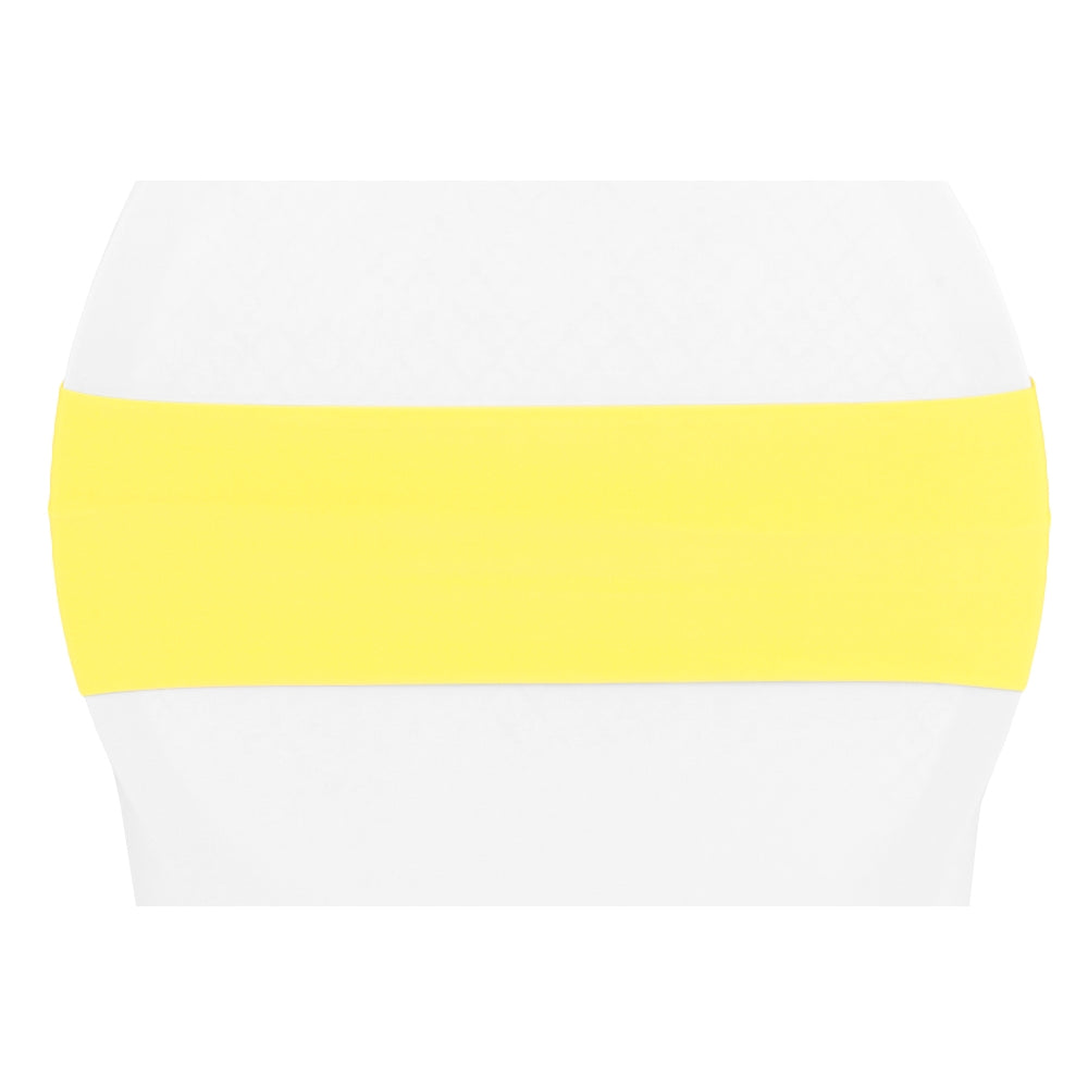 Spandex Chair Band - Bright Yellow