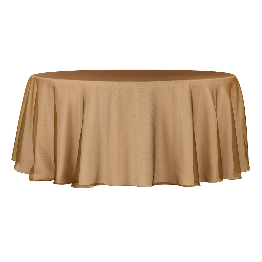 Square Radiant Snow Organza Table Overlay Topper 118 Round Copper Cv Linens