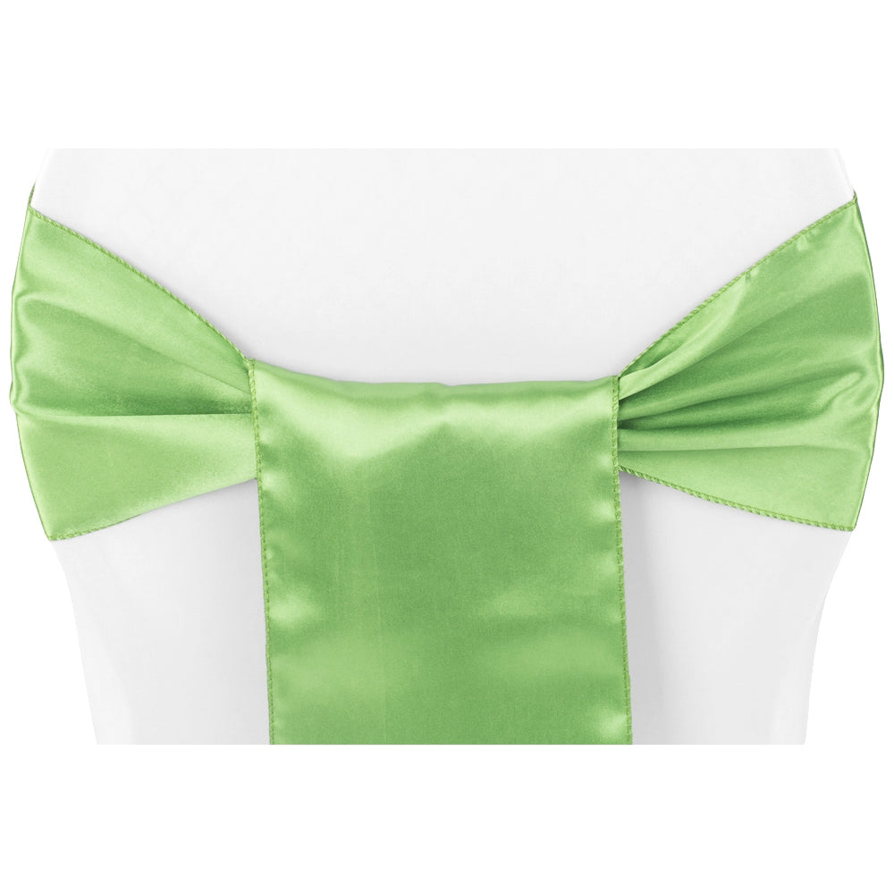 Standard Satin Chair Sash - Clover (Clearance)