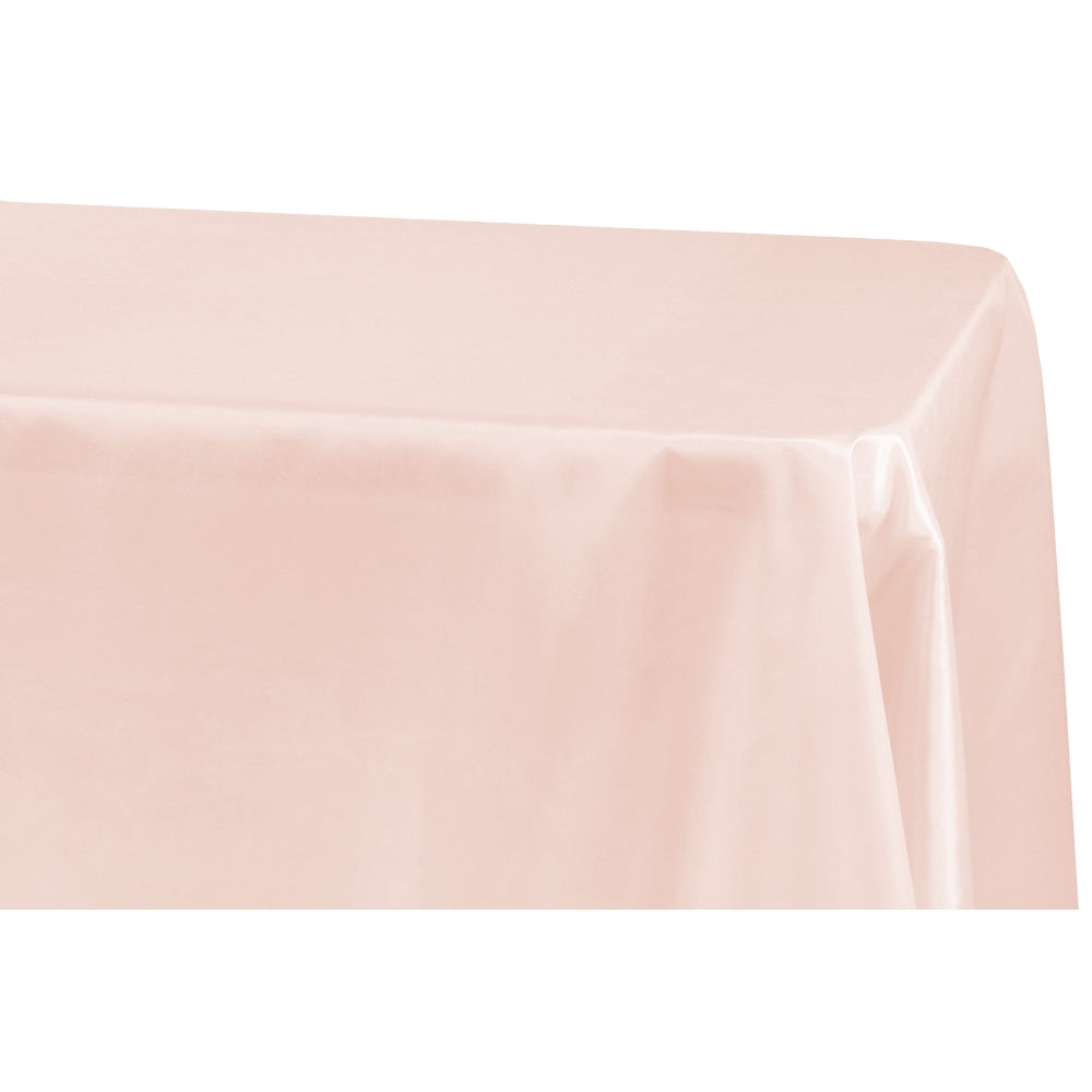 "Taffeta Tablecloth 90""x132"" Rectangular - Blush"