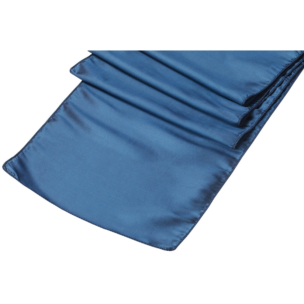 Taffeta Table Runner - Navy Blue