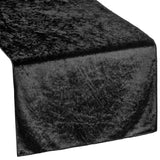 Velvet Table Runner - Black